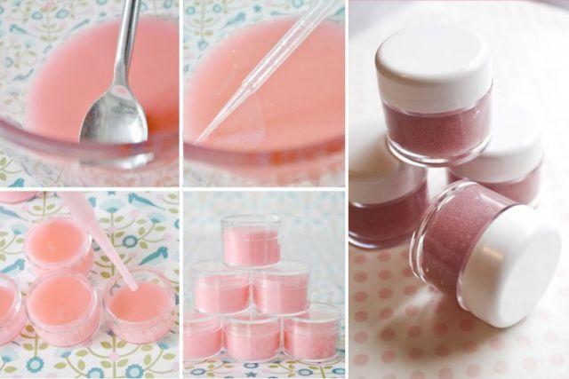 Fabriquer des baumes à lèvres Baume sucré