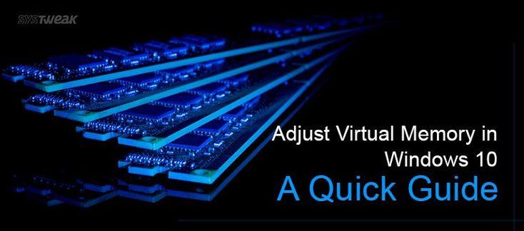 How to increase virtual memory in windows 10