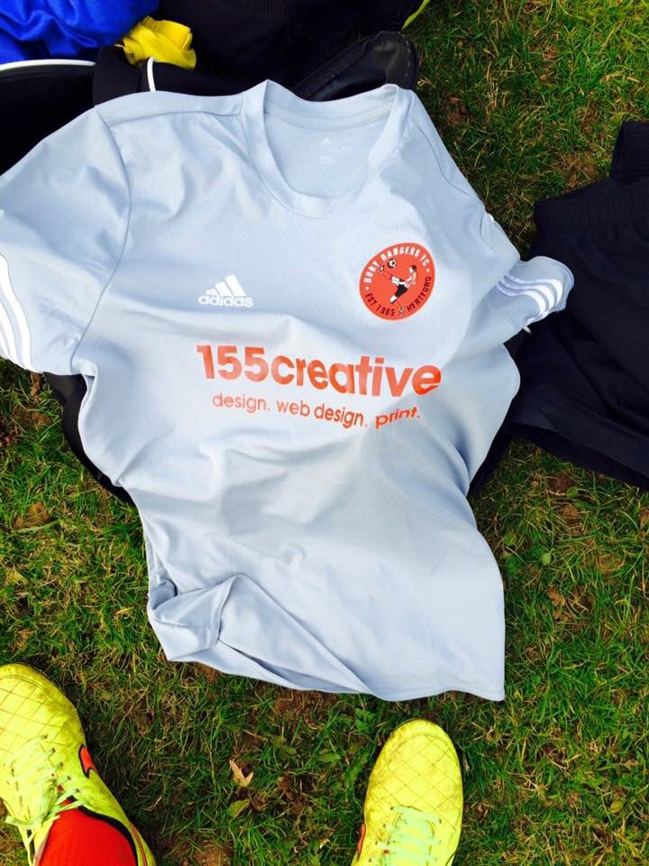Sponsorship for local football team Bury Rangers #advertising #155creative