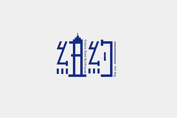 融合當地建築物 字體設計 | MyDesy 淘靈感