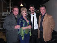 Brennan Thicke, Gloria Loring, Robin Thicke, and Alan Thicke