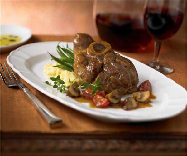 Ossobucco alla Piemontese at Giovanni's Table. #Italian #RoyalCaribbean