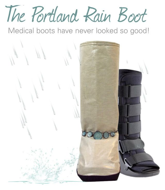 Help keep your medical walking boot or aircast dry when recovering