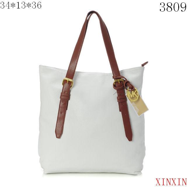 Michael Kors Shoulder Bags-All White from michaelkors-outletss.com