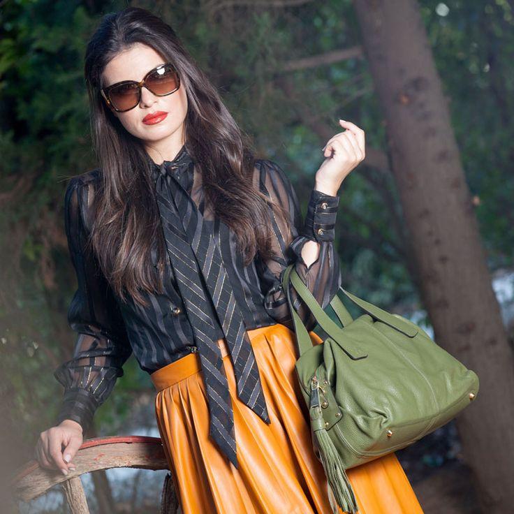 Italian Design Leather Handbags with Premium Quality