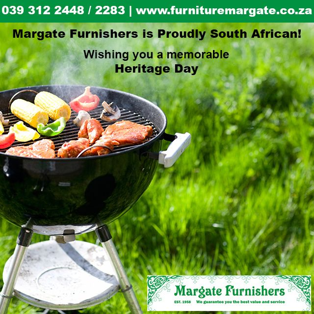 Margate Furnishers is Proudly South African! Wishing you a memorable Heritage Day 2015 #HeritageDay2015 http://bit.ly/1FkjR4M