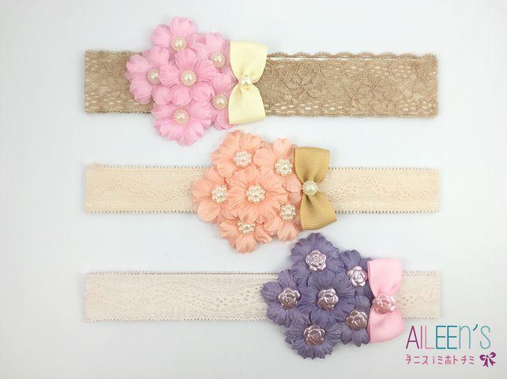 Royal Sakura baby headband