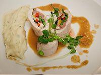 Dodine de BLANC de poulet farcie au sanglier