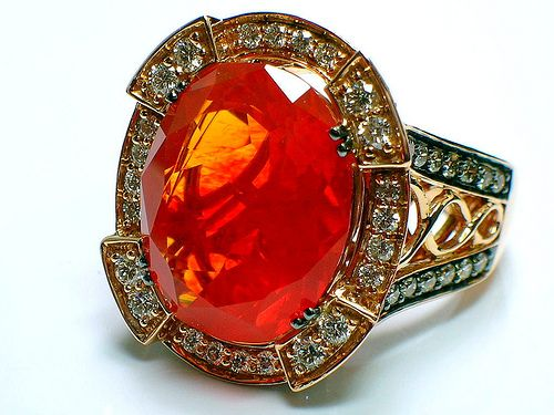 1616 best opalmoonstone images on pinterest jewel opal jewelry fire opal ring aloadofball Choice Image