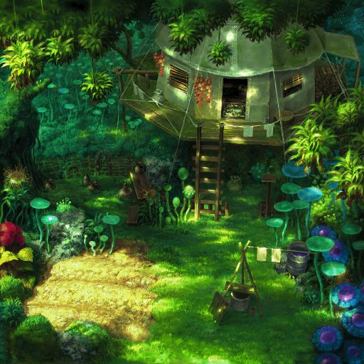 The tree house island _chrono cross
