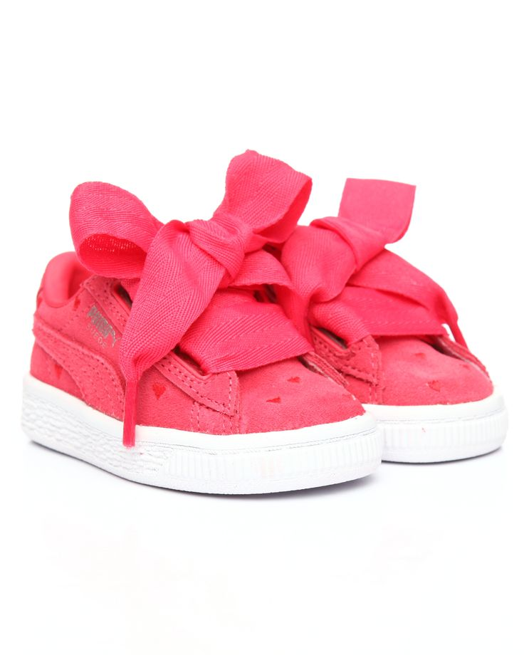 Suede Heart Valentine Inf Sneakers (4-10) Girls Footwear from Puma. Find Puma fashion & more at DrJays.com