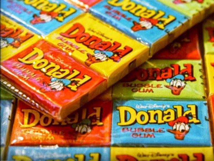 Gumy Donald - kultowa balonowa guma do żucia