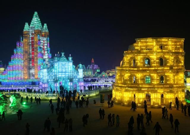 The 30th Annual Harbin International Ice and Snow Sculpture Festival in China | S.O.M.F
