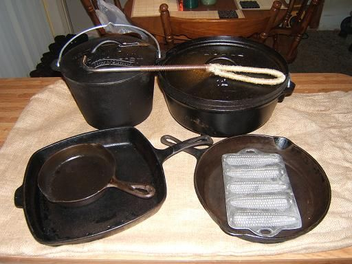 Tool tips guide cast iron cookware pictures of the o for Cast iron skillet camping dessert recipes