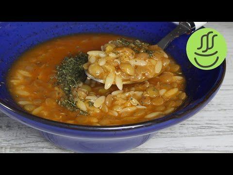 Yeşil Mercimek Çorbası Nasıl Yapılır? - Naciye Kesici - Yemek Tarifleri - YouTube