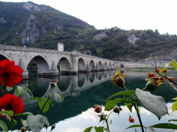 Bosna,Višegrad - most Mehmeda paší Sokoloviče z 16. století