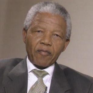 Charlie Rose Interviews Nelson Mandela