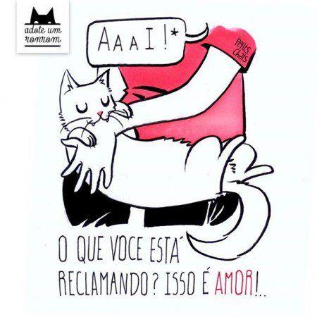 """Designer Manu Cunha para o livro """"Como Diria Meu Gato"""""""