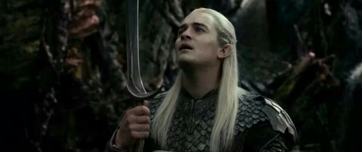 orcrist and legolas