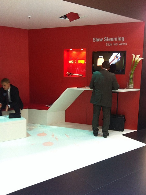 Slowsteaming (retrofit) at the 2012 SMM fair by MAN|PrimeServ, via Flickr