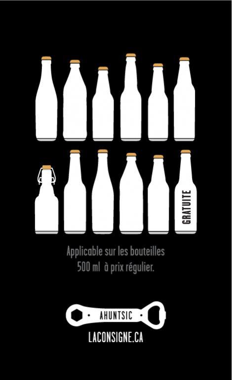 La Consigne Beer Chope designed by Yanick Nolet.