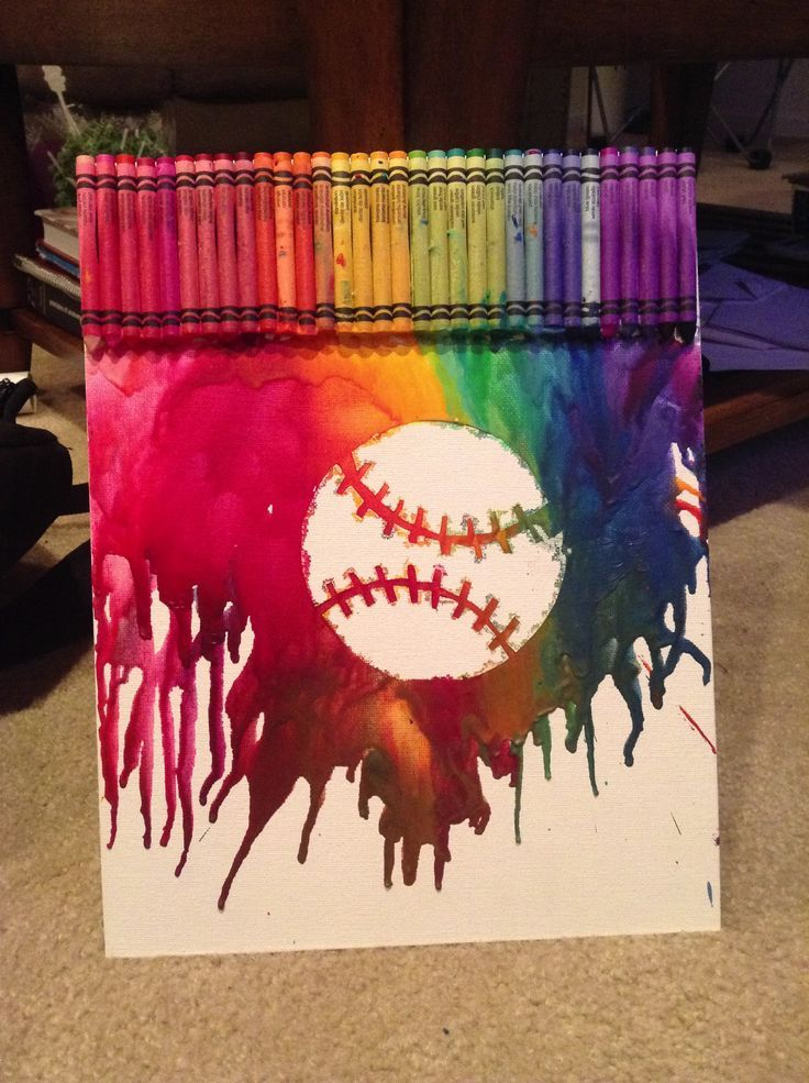 Kids could make this with their favorite extracurricular icon in the center. This but with soccer ball instead