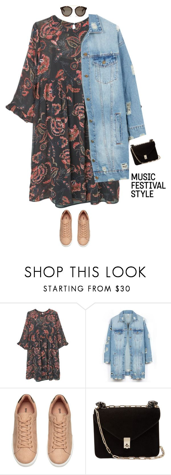 """Show Time: Best Festival Trend"" by beachkidwithdirtyvans ❤ liked on Polyvore featuring MANGO, LE3NO, Valentino and STELLA McCARTNEY"
