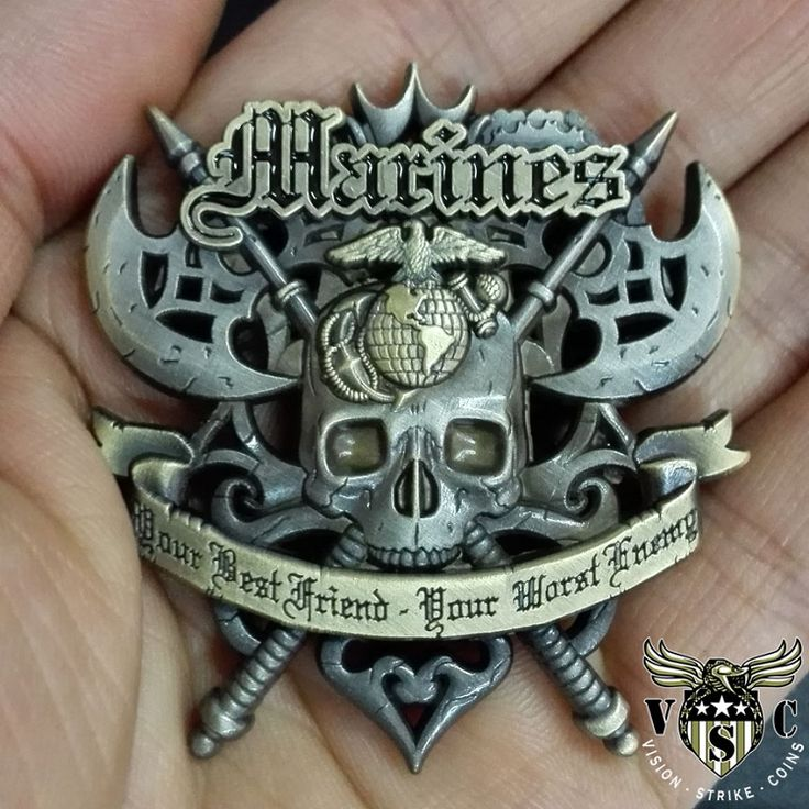 Marine Corps Battle Axe Coin $17.75