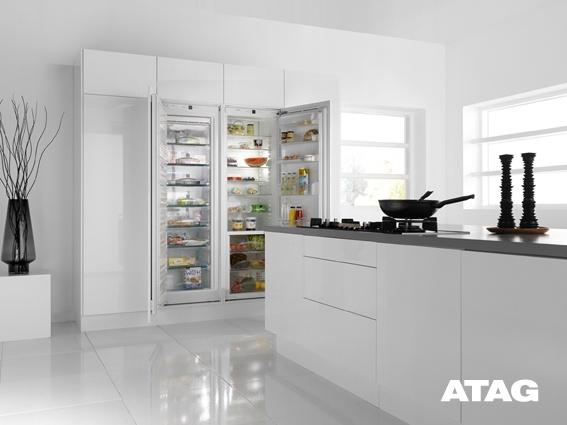 Inbouw koelkast en vriezer