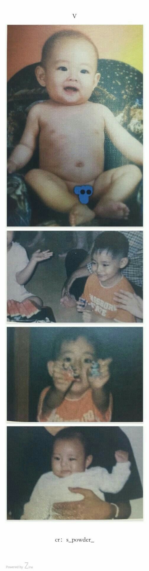 Omo tae tae was so adorable as a baby and he still is