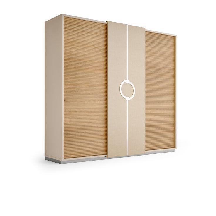 PLATEAU Wardrobe with sliding doors by Caroti