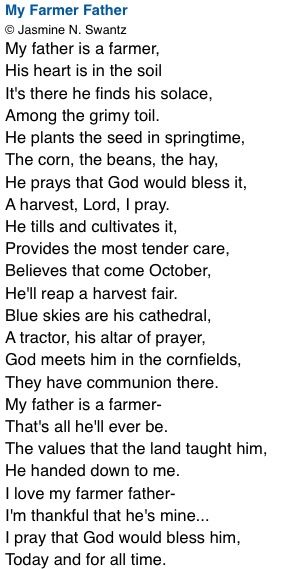 Grandpa's poem