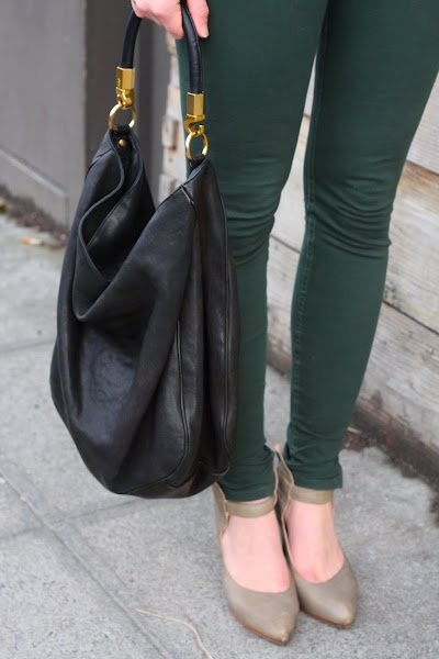 forest green jeans