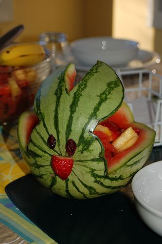 Idea for doing fruit salad easter it s spring time
