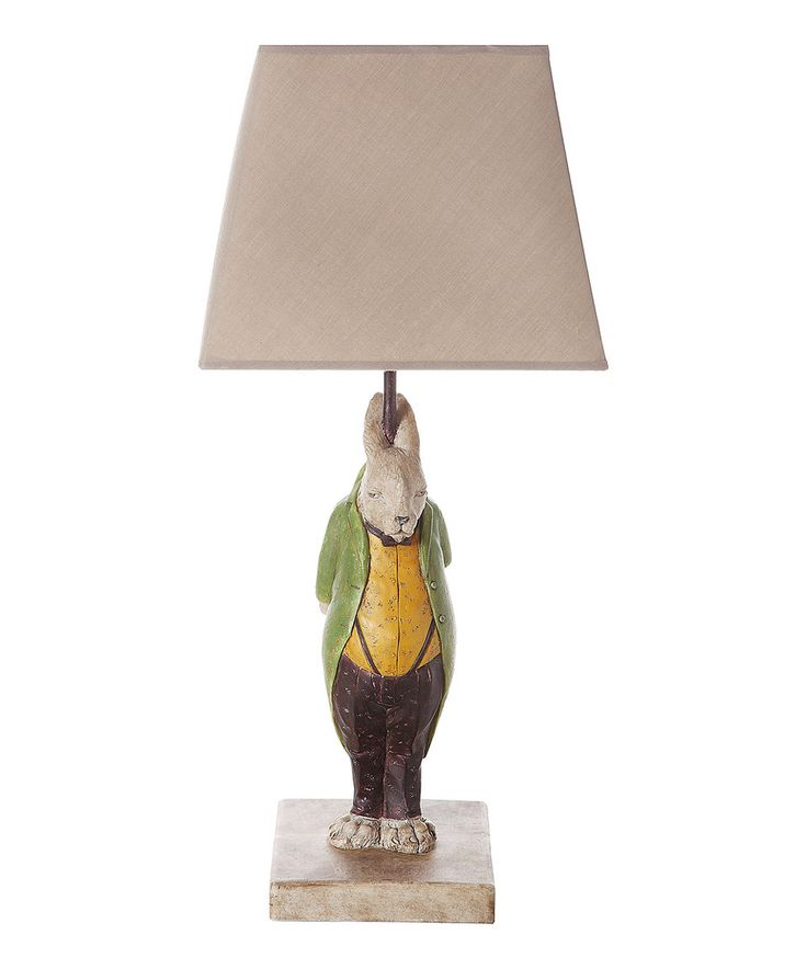 Hare in suit lamp shades creative and suits - Creative lamp shades ...
