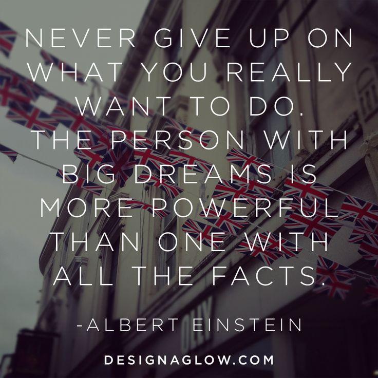 Inspirational Quote from Albert Einstein