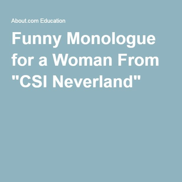 5 Short Comedic Monologues for Women
