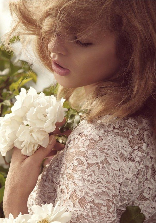 Julia Frauche by Camilla Akrans for Porter Magazine #1 Spring 2014