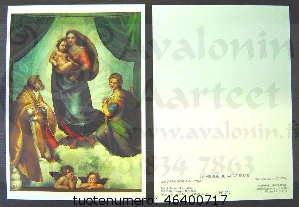 La Vierge de Saint-Sixte