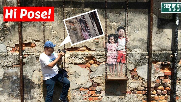 壁画の迷宮ジョージタウン 二次元世界の少年少女を撮影したら 歴史の中に取り込まれた
