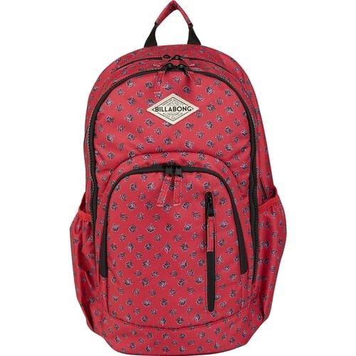 Billabong All Day Backpack in Crimson