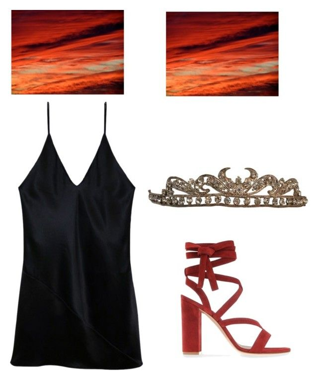 """""""Untitled #213"""" by amyisjoyful on Polyvore featuring Gianvito Rossi and Fleur du Mal"""