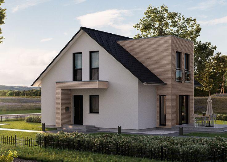 gostamos das costelas estreitas que são contrastadas, a extensão, mais entradas leves   – Haus-erweiterungen