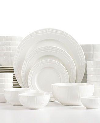 11 best White Dinnerware images on Pinterest | White ...