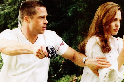 Mr and Mrs Smith hillarious ***