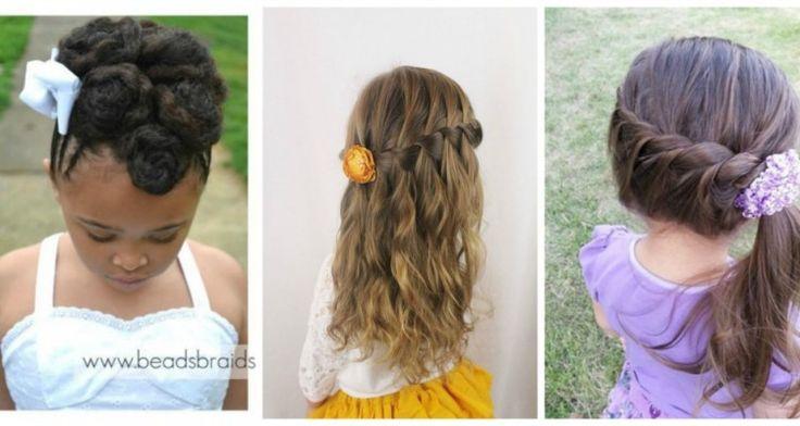 12 χαριτωμένα παιδικά χτενίσματα κατάλληλα για τις μικρές σας πριγκίπισσες