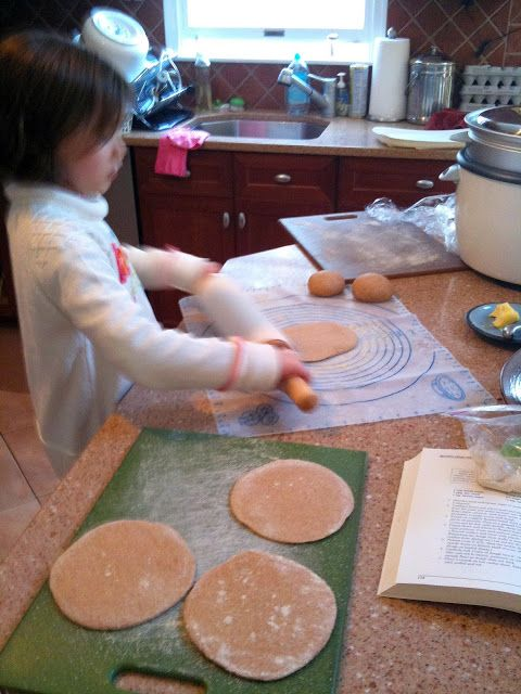 Homemade Whole Wheat Pita Recipe -
