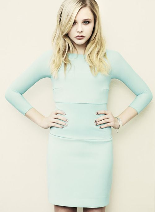 Chloe Grace Moretz - that awkward moment when a 15 year old is prettier than you..