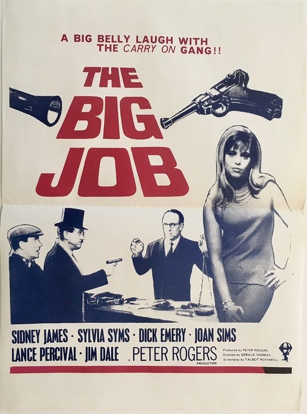 Big Job, The (Carry On Crooks) | Movie posters vintage, 1960s ...
