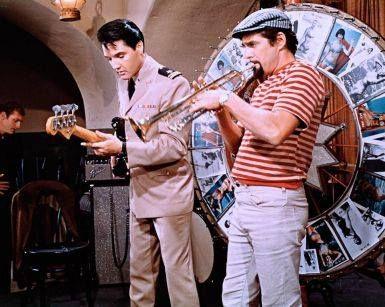 """Easy Come, Easy Go"" - Elvis and Pat Harrington.."